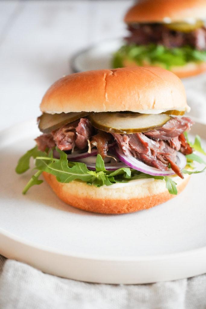 Burger Med Confiteret And