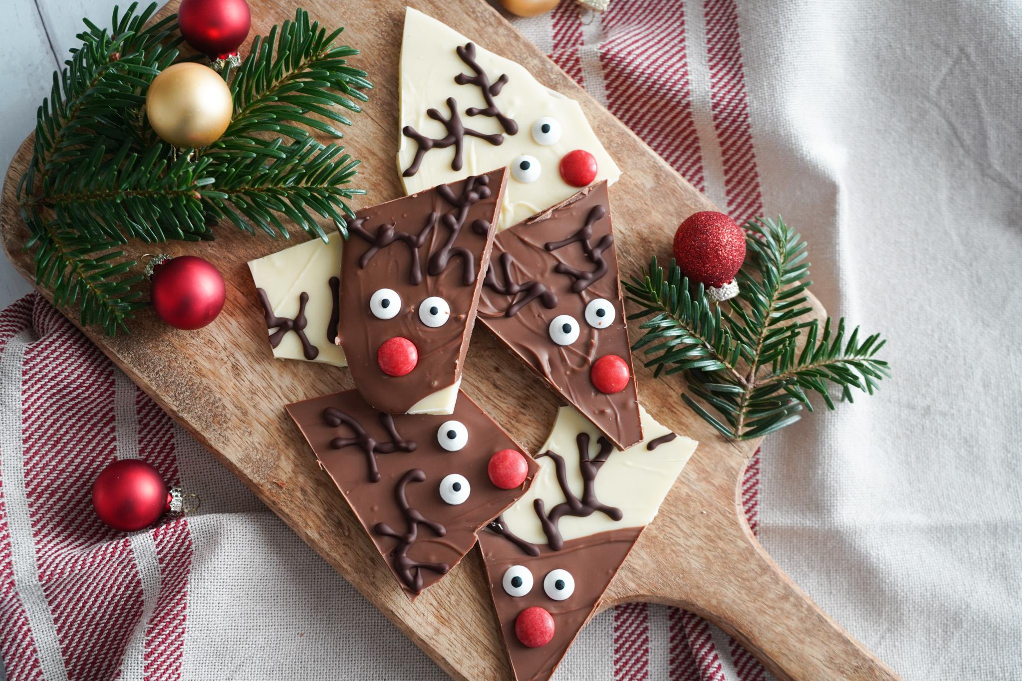 Rudolf Chokolade Bark