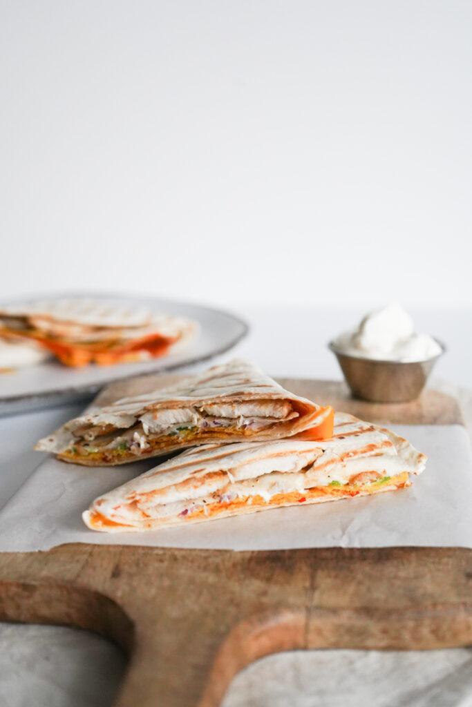 Nachos Quesadillas
