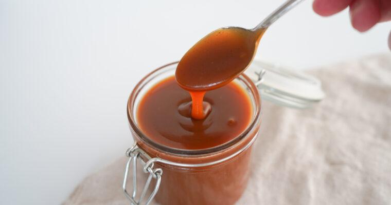 Karamelsauce