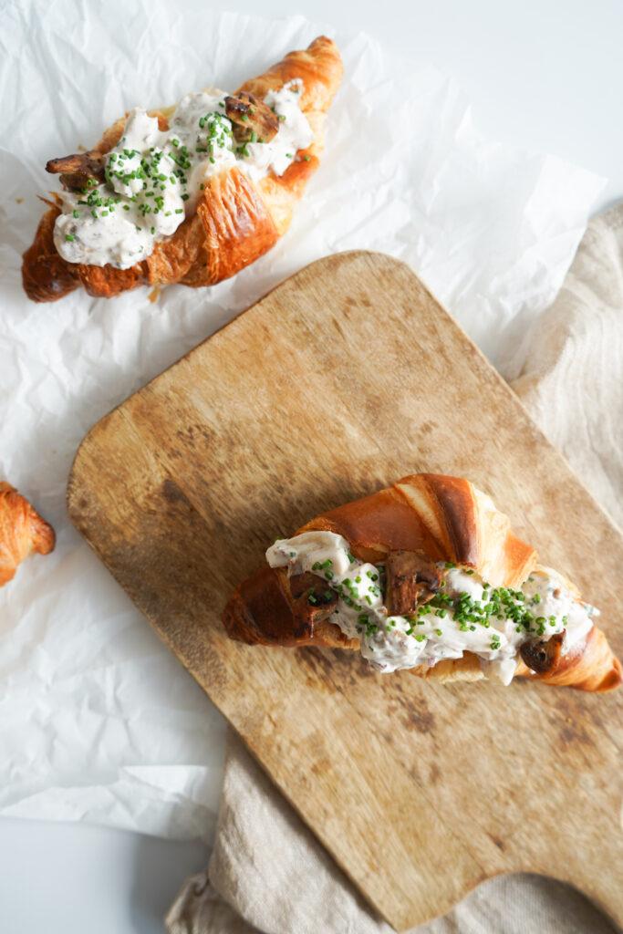 Croissant Med Kyllingesalat