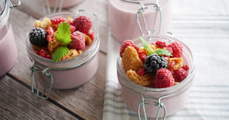 Hindbærfromage