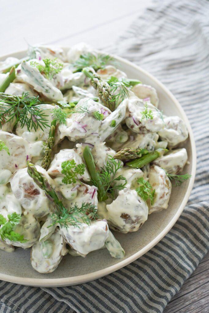 Kartoffelsalat Med Sommerdressing