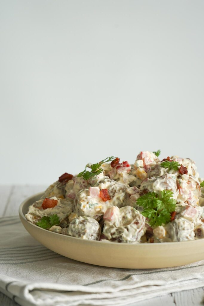 Kartoffelsalat Med Pikantost