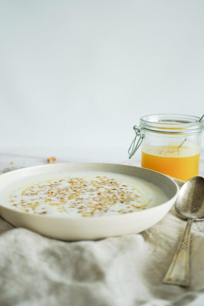 Koldskål Med Ananassirup