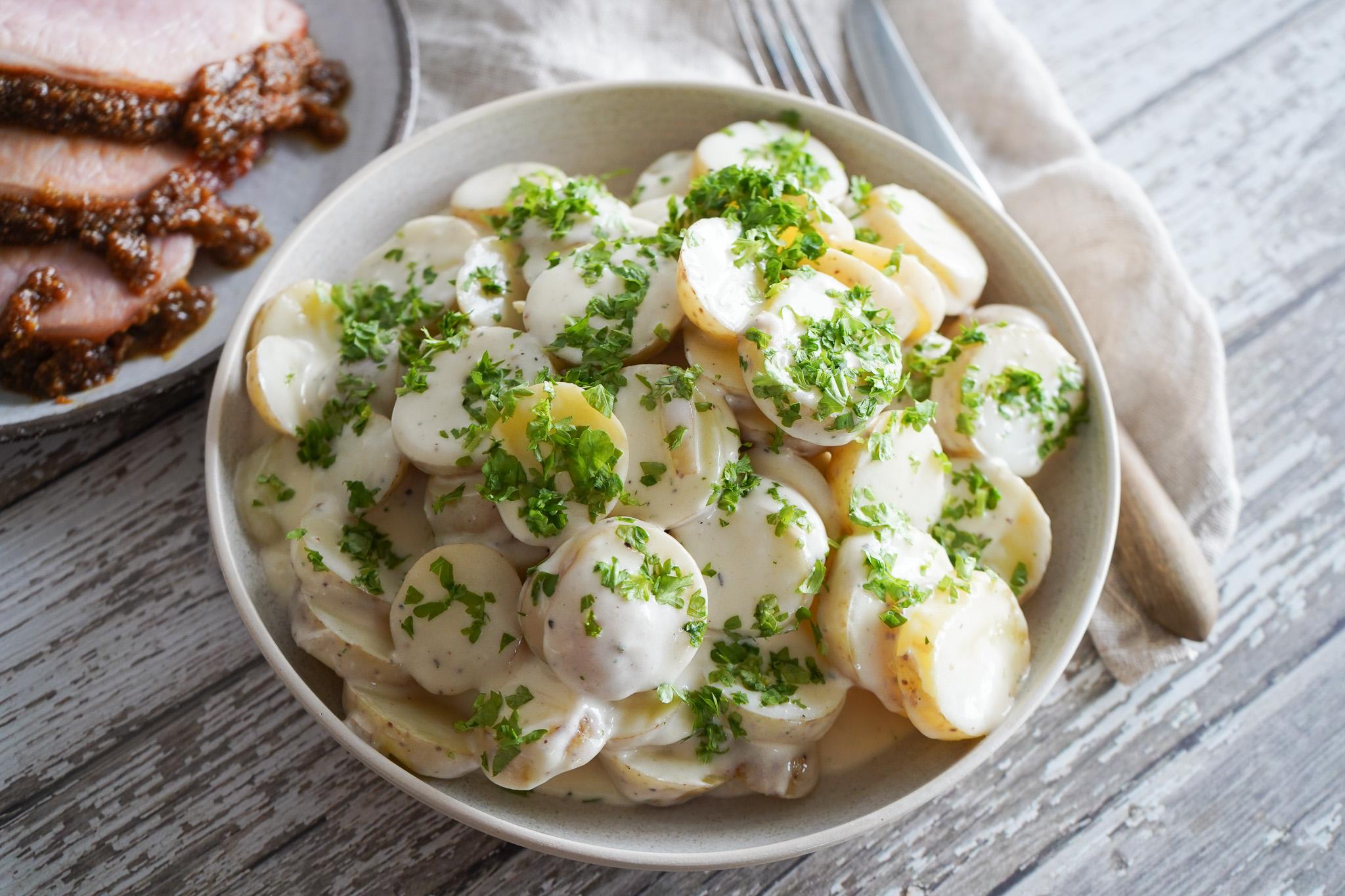 Stuvede Kartofler