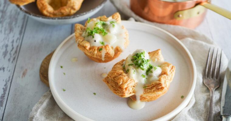 Tarteletter Med Kødboller Og Asparges