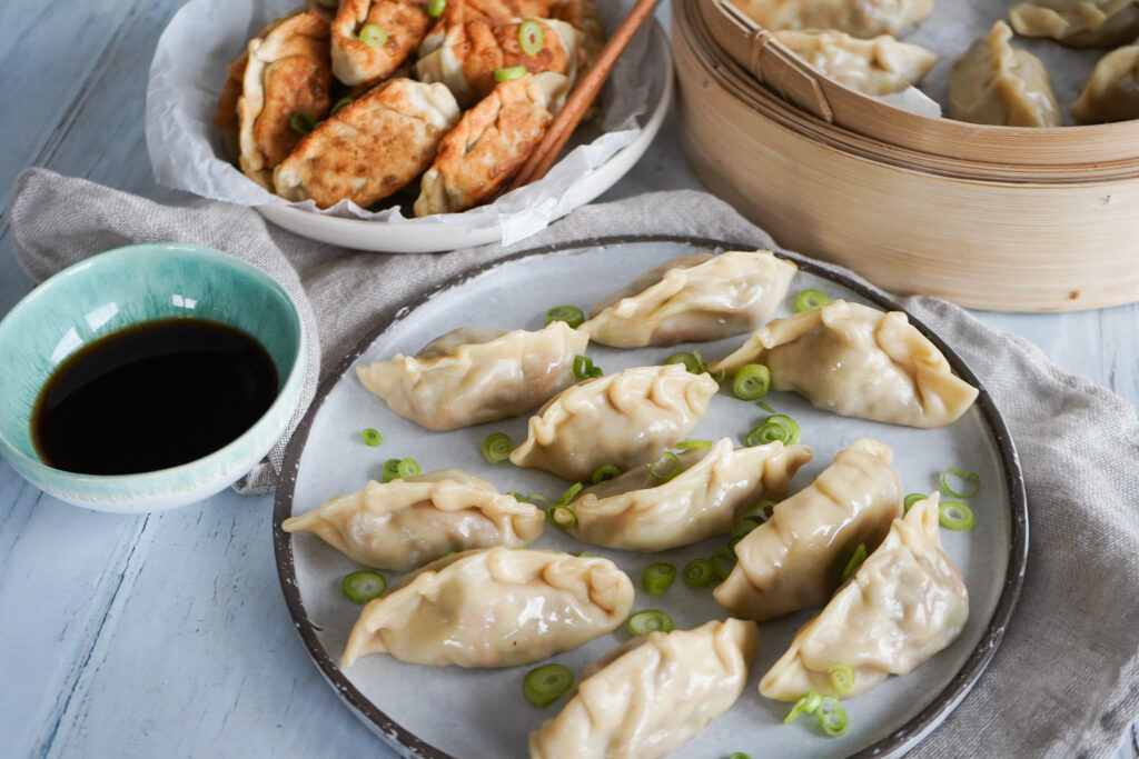 Dumplings Med Pulled Pork
